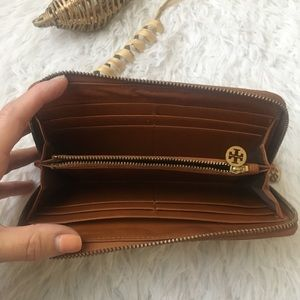 Tory Burch Bags - Tory Burch brown leather wallet